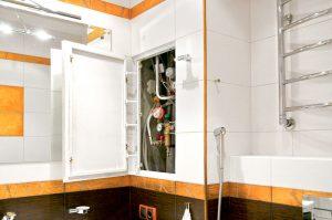 Дверка в ванну