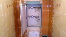 Скрытый люк в туалет без лишних деталей!